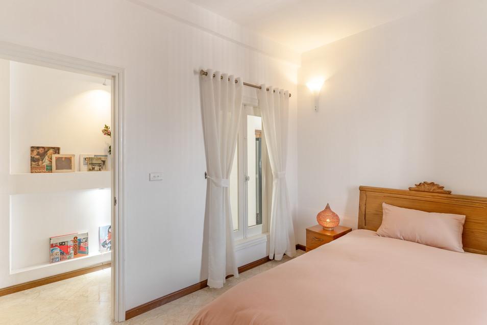 Chic Parisian_ Small Bedroom