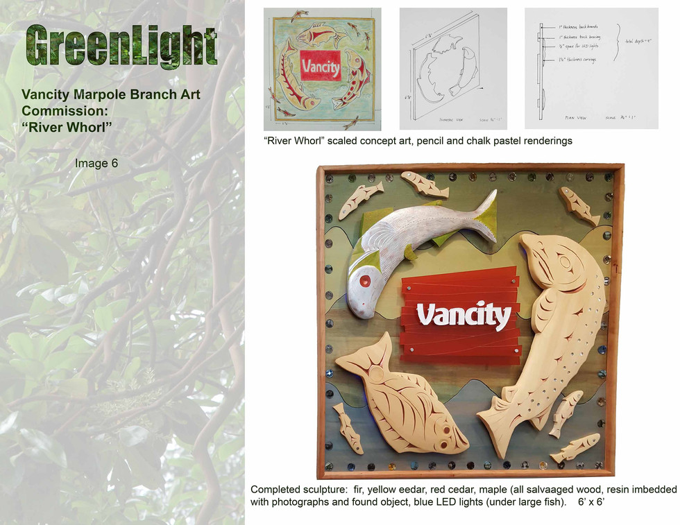 Vancity Marpole Branch Art Commission, 70th Ave and Granville, Vancouver