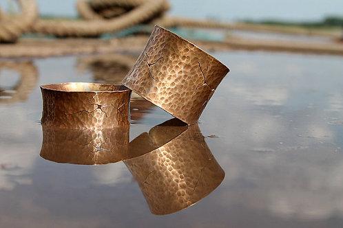 contemporary copper alloy bangle