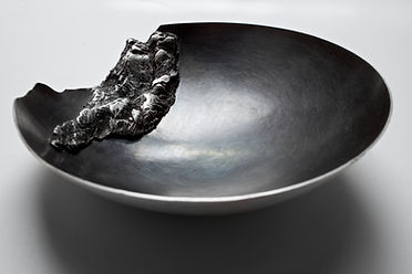 Silversmith, Sophie Harris contemporary metalwork