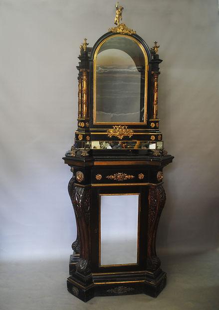 George Pyke pedestal organ clock