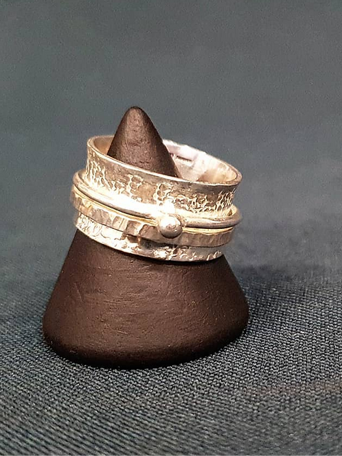 Thick Spinner Ring