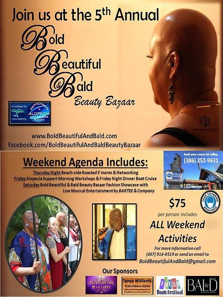 Bold Beautiful & Bald Beauty Bazaar Sept