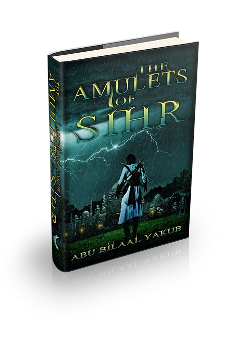 Amulets of Sihr - Hardcover Dustjacket