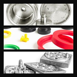 Set rubber industry sealing and mold for