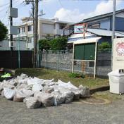 第1回公園清掃(門沢橋第1児童公園)