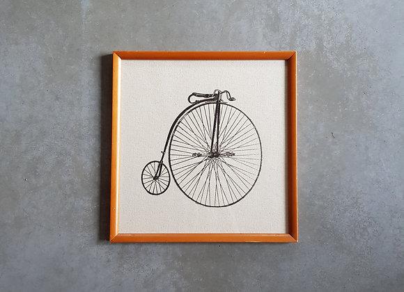 'תמונת אופניים במסגרת וינטג