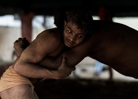 Kusti Wrestlers at Thulsi Ghat