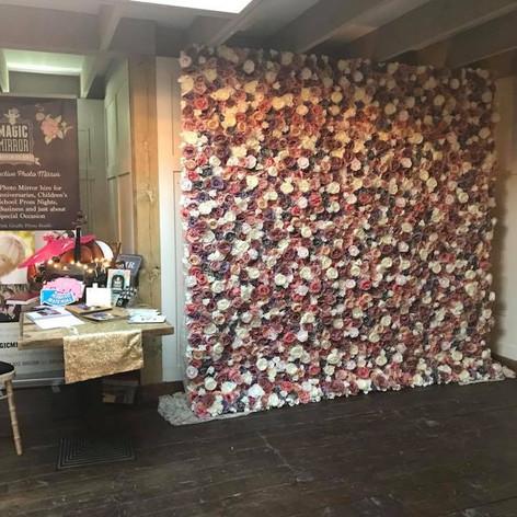 Flower Wall Hire Somerset