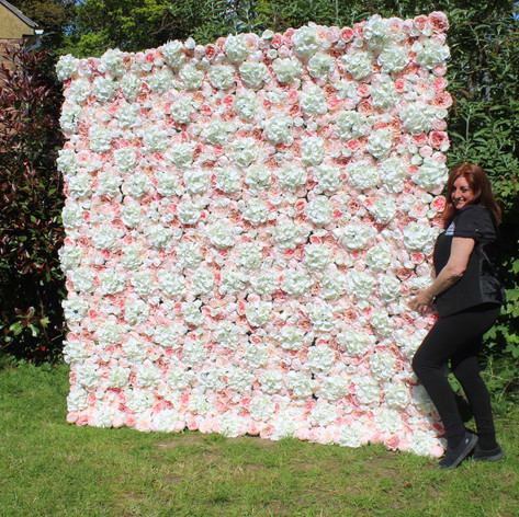 Flower Wall Hire Bournemouth