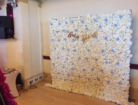 Flower Wall Hire In London