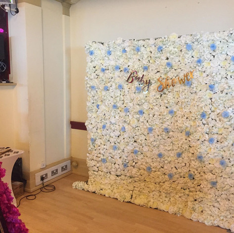 Flower Wall Hire In Wiltshire