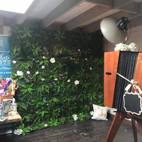 Flower Wall Hire in Bath