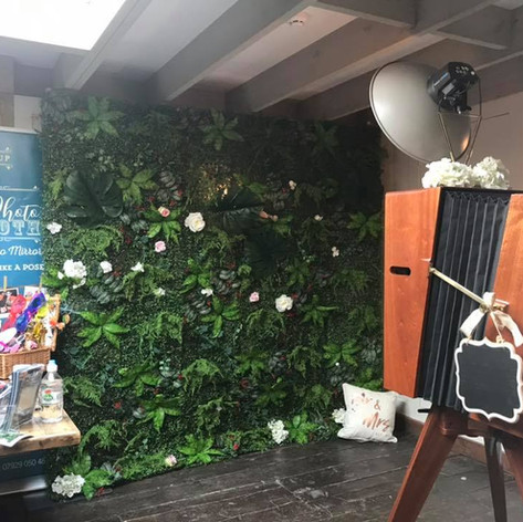 Flower Wall Hire in Bournemouth