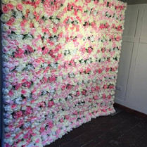 The New Blush Flower Wall