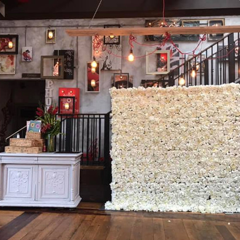 Flower Wall Hire In Dorset
