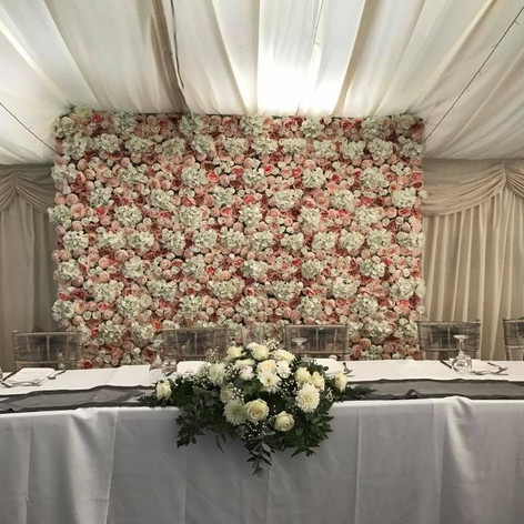 The Blush Flower Wall
