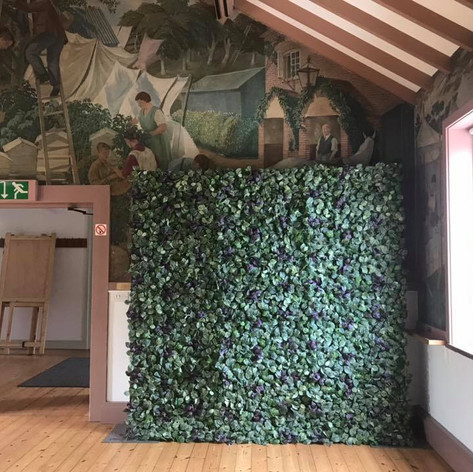 Flower Wall Hire Devon