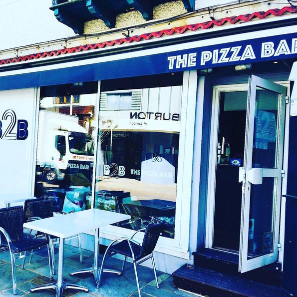 B2B THE PIZZA BAR TERRASSE