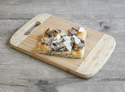pizza champignons crème de truffe