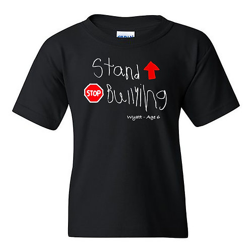 Stand Up Stop Bullying T-Shirt - YOUTH
