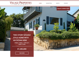 New Direct Property Listing Website for 14 W Quinto Street in Santa Barbara!