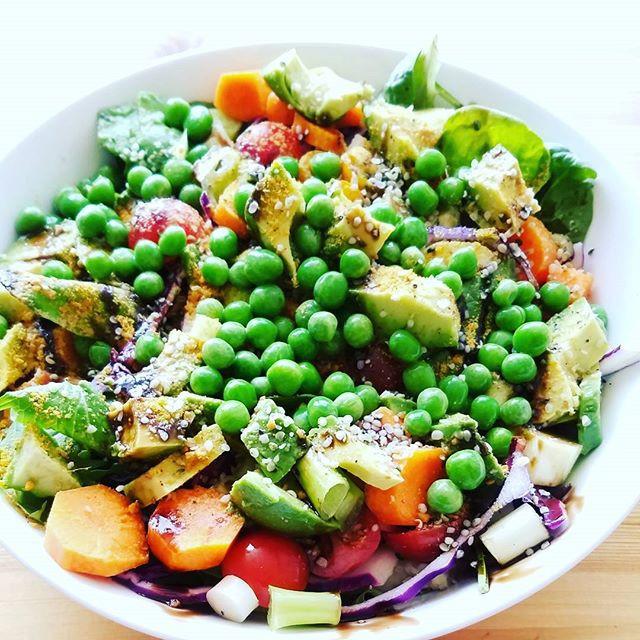 Lunch: Rainbow Salad