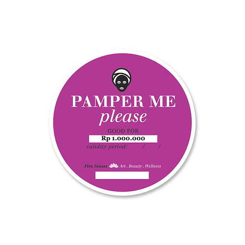 Gift Card - Pamper Me Please