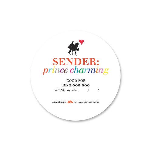 Gift Card - Prince Charming