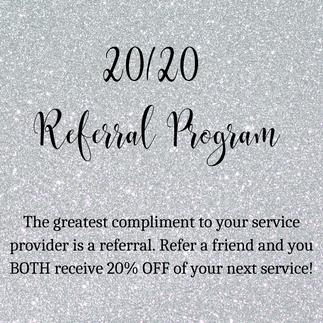 2020 Referral Program