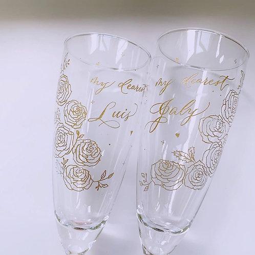 Engraved Champagne Gift Set