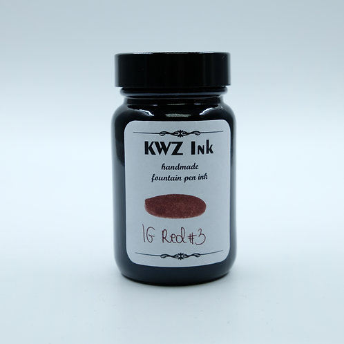 KWZ Iron Gall Ink - Red #3