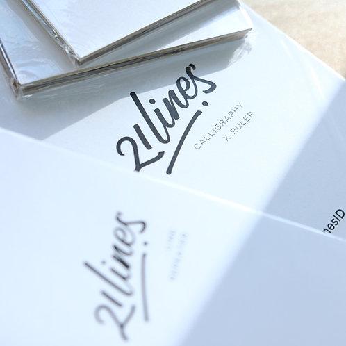 Calligraphy X - Ruler