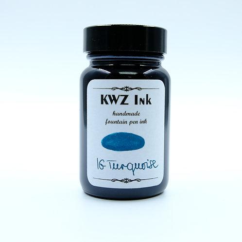 KWZ Iron Gall Ink - Turquoise