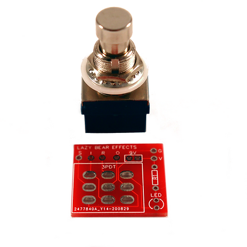 True Bypass Switch & PCB