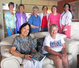 literary ladies reading group meeting member home
