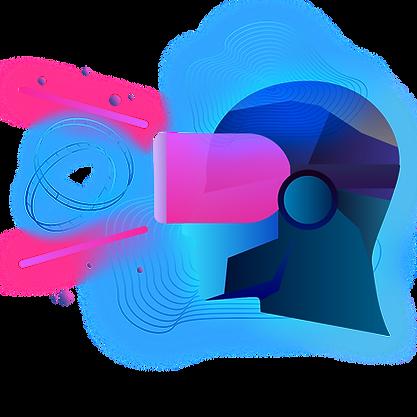 —Pngtree—blue geometric virtual reality creative_5008121.png