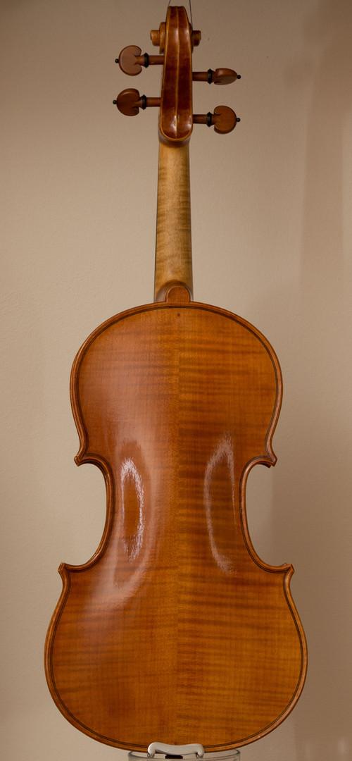 Handmade violin 2016, stradivari model, back