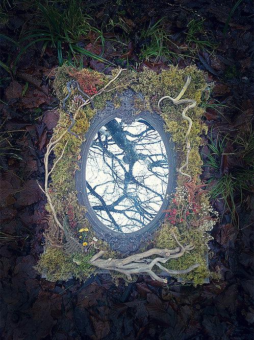 Grey Fae Mirror
