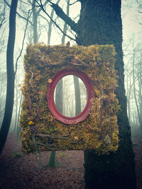 Red Fae Mirror