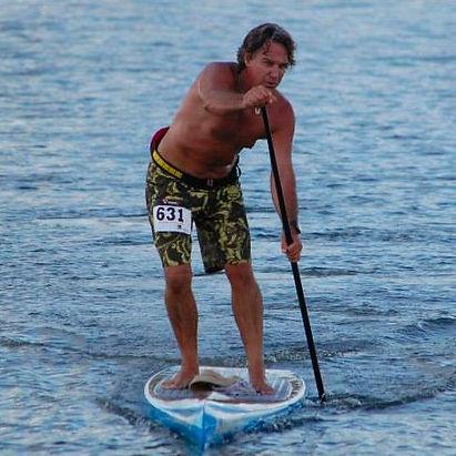 Steve Fisher Lake Murray SUP