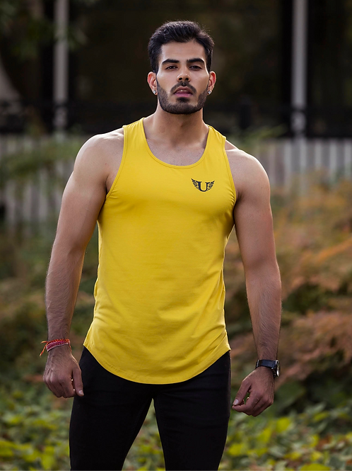 UL YELLOW TANK TOP
