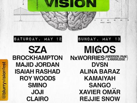 Blurry Vision Music Festival 2018