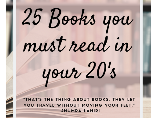 Books. They let you travel without moving your feet.