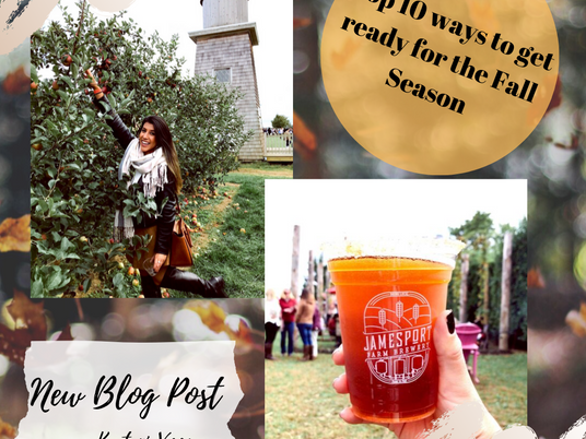 Top 10 Ways to Get Ready for the Fall Season!