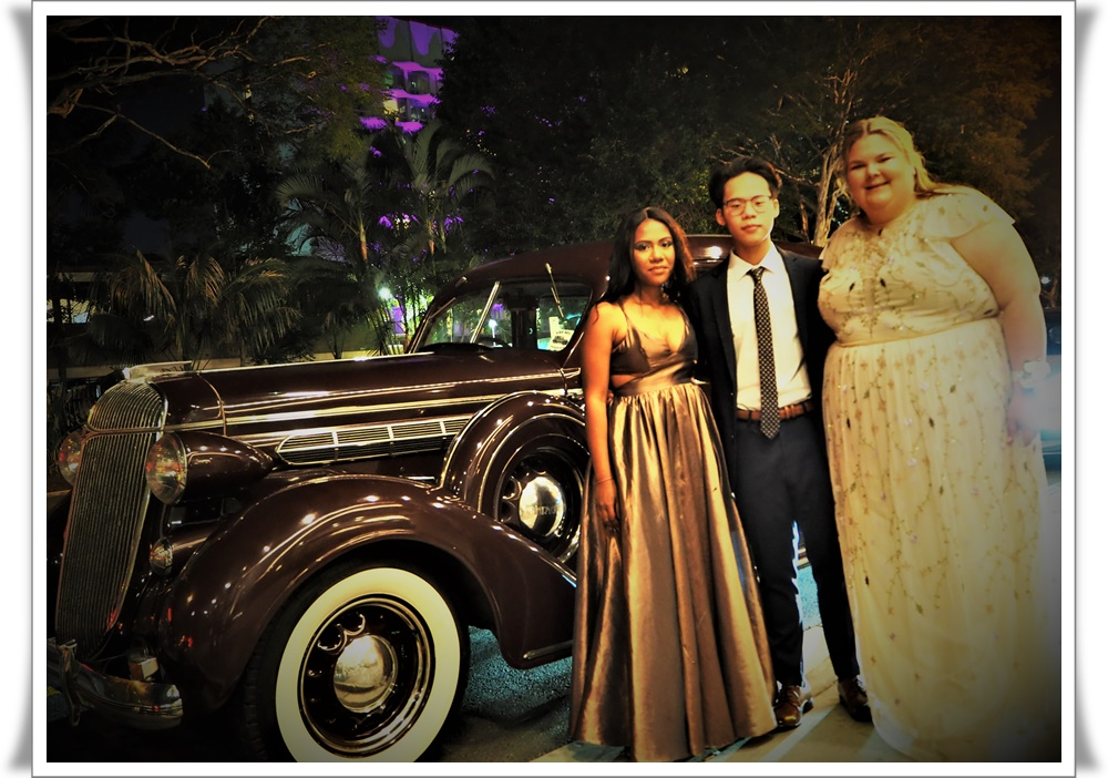 Capone Brisbane Art deco car