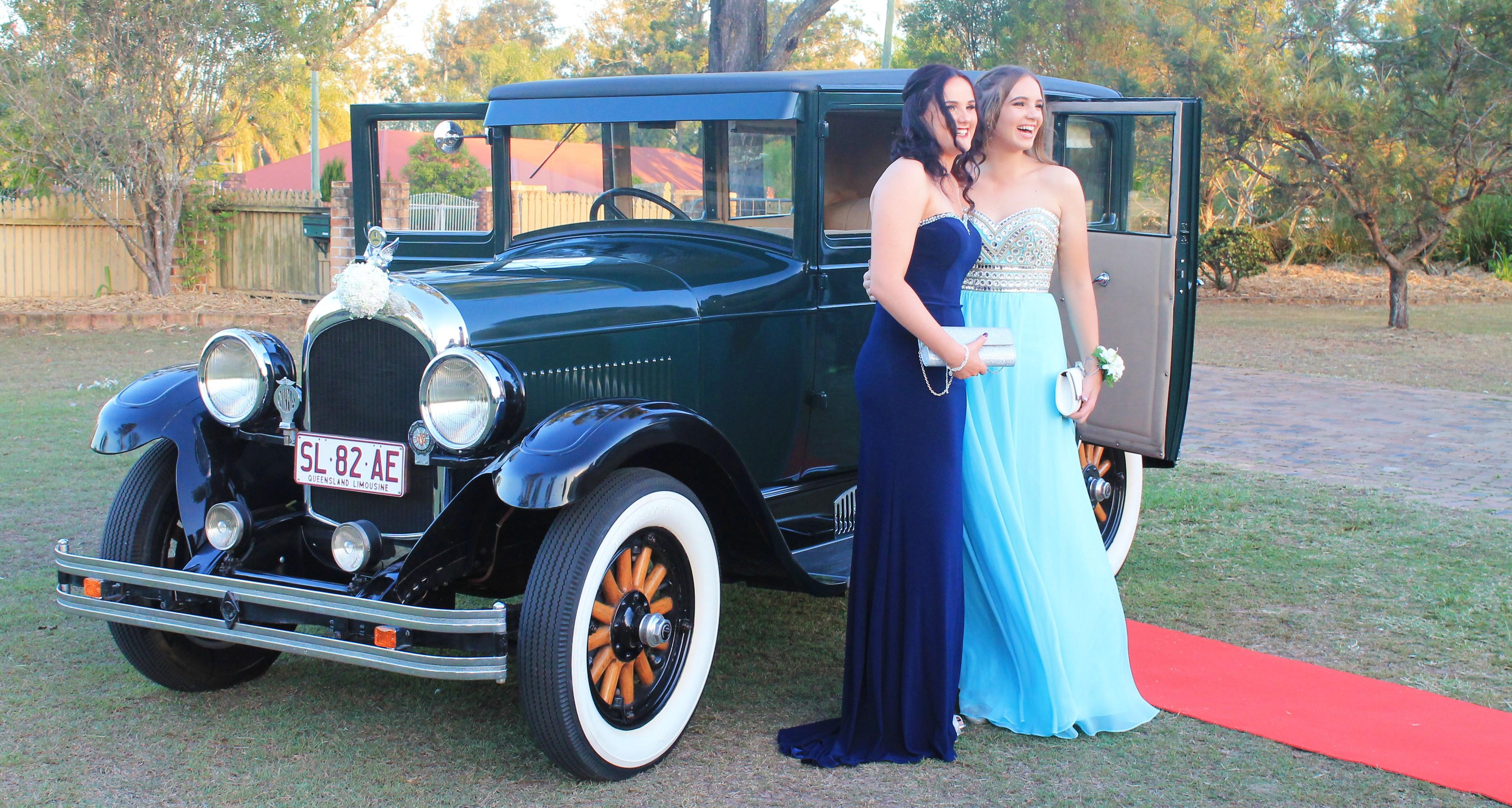 Vintage formal car hire