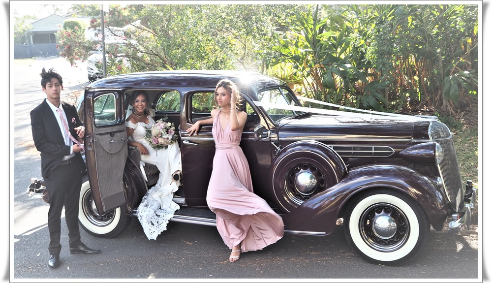 Capone Brisbane wedding car