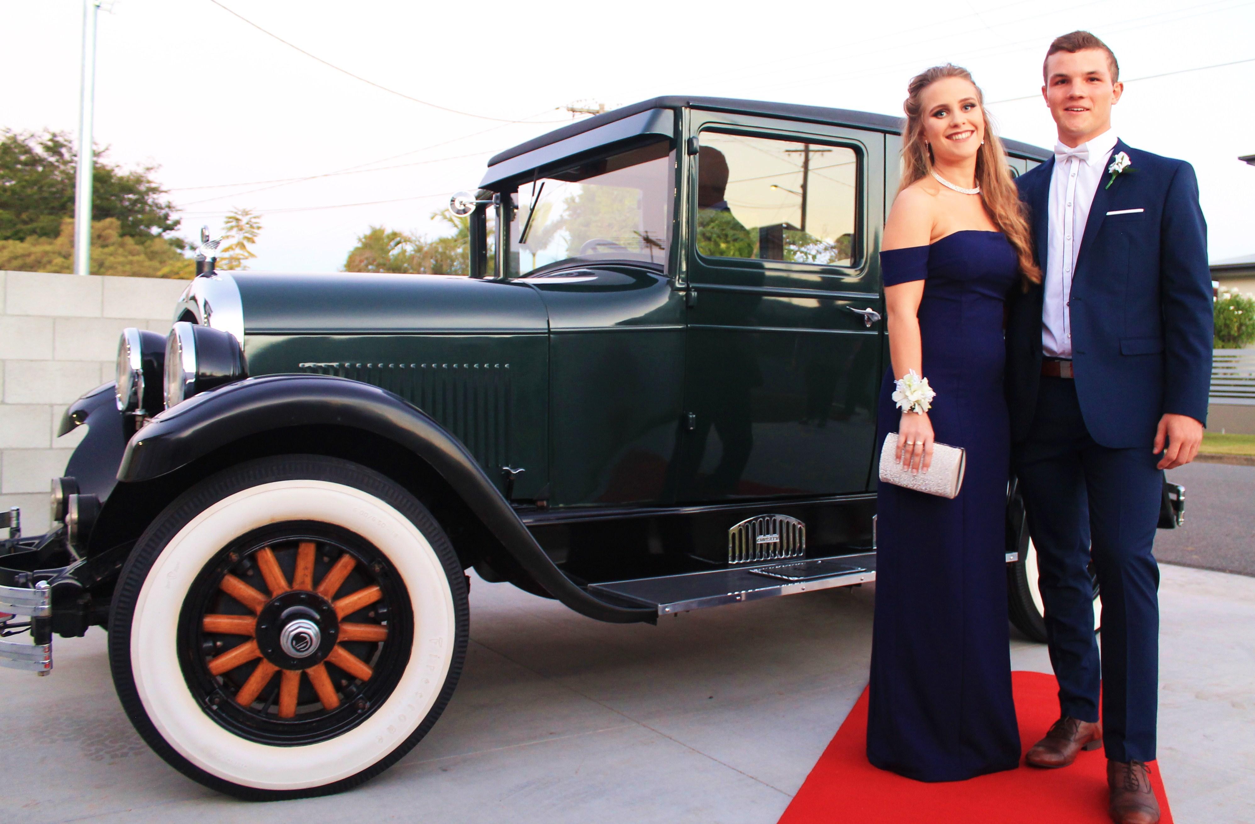 Brisbane school formal car hire