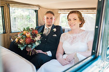 Brisbane Bride inside vintage car Roaring Twenties Vintage Car Hire